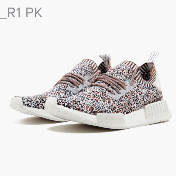 info for 1045a 0a1f0 ADIDAS  NMD R1 Colour Static Rainbow